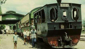 Cerita Sejarah Sepur Trutuk di Stasiun Pare, Berakhir 1975