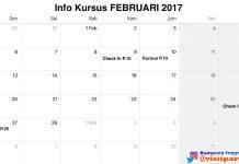 Kursus Periode Februari 2017