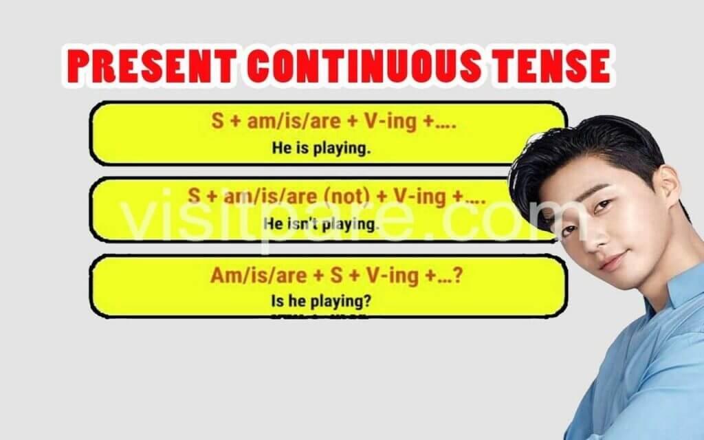 Fungsi Present Continuous Tense