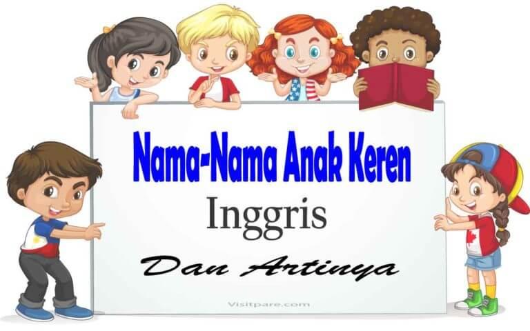 Nama-Nama Keren Inggris Beserta dengan Artinya