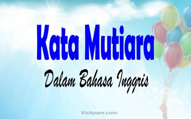 Kata Mutiara dalam Bahasa Inggris
