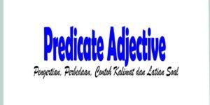 Predicate Adjective: Pengertian, Perbedaan, Contoh Kalimat dan Latian Soal